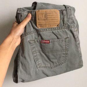 Vintage Ralph Lauren Grey Jeans